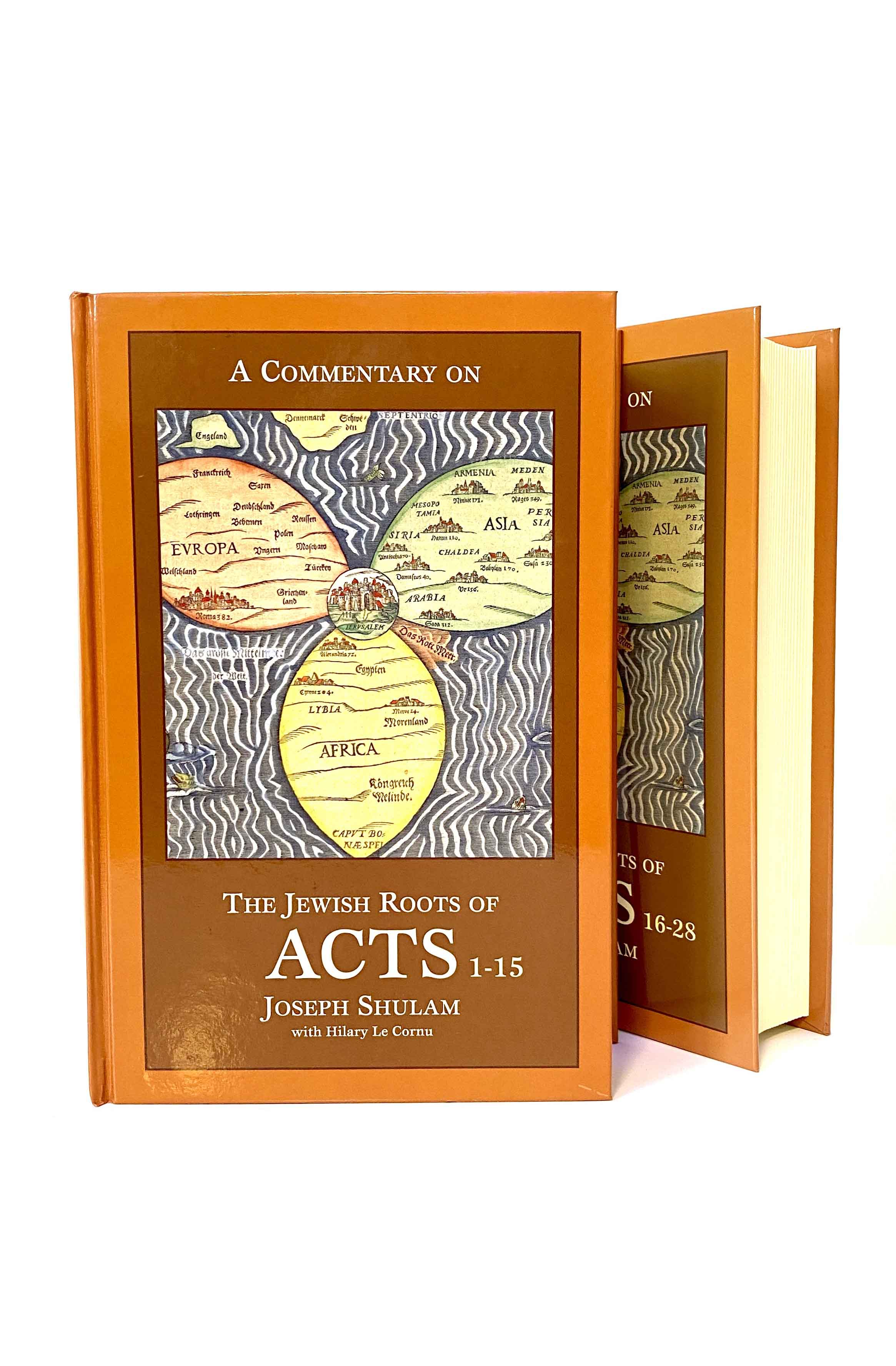 Netivyah   The Jewish Roots of Acts by Hilary Le Cornu and Joseph Shulam