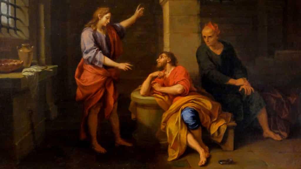 Netivyah | Parashat Miketz | Joseph in Prison, Musée Bossuet, Meaux (1733)