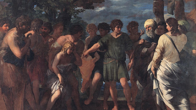 Netivyah | Parashat Vayeshev | Joseph sold by his brothers, Giovanni Maria Bottala (1636-1642)