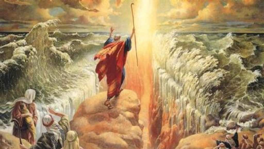 Netivyah | Parashat Beshalach | Moses parting the Red Sea