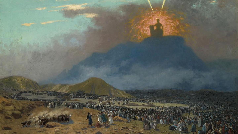 Netivyah | Parashat Mishpatim | Moses on Mount Sinai | Jean-Léon Gérôme (1824-1904)