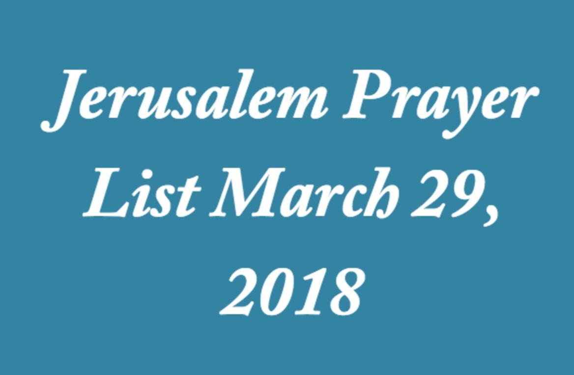 jerusalem-prayer-list