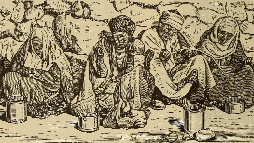Parashat Tazria-Metzora is a passage from the Bible that deals with lepers and leprosy.