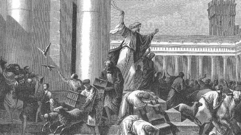 The zeal of Pinchas (Phinehas) is seen later in Jesus.