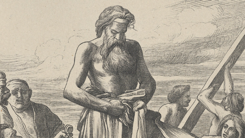 Noah Building the Ark (Dalziels' Bible Gallery) | Parashat Bereshit