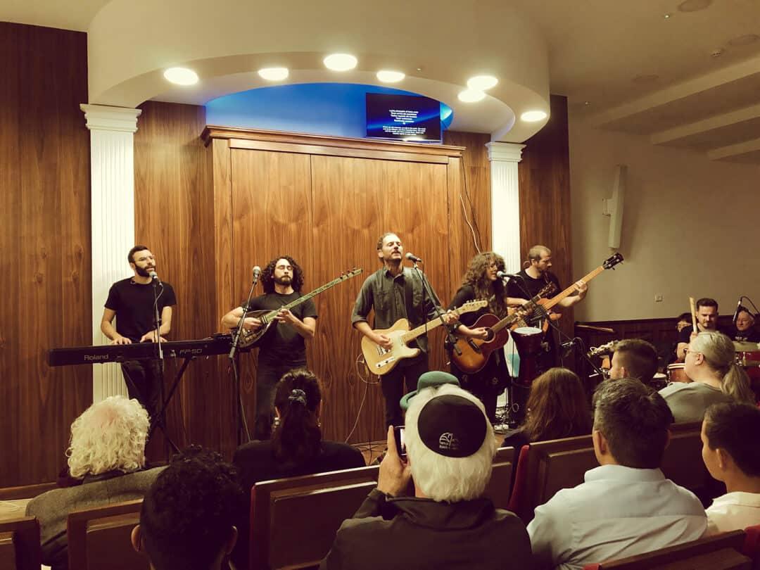 Netivyah 40th Anniversary | Miqedem playing at the Shabbat celebration night.
