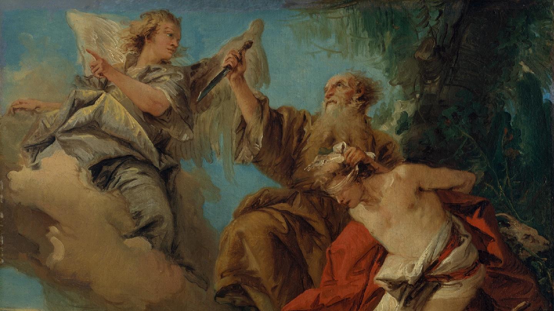 Netivyah | Rosh Hashanah in the New Testament | The Sacrifice of Isaac, Giovanni Domenico Tiepolo (1727-1804)